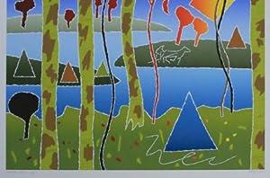 Chippewah Spring; Exemplar 68/75 ; SIGNIERT von Secunda, abstrakte Jahreszeiten: Secunda, Arthur