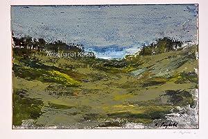 o.T,Landschaft abstrakt: Seybold, Willi