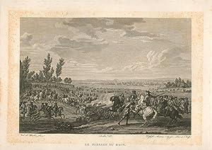 Le Passage Du Rhin.,Historiendarstellung: nach van der Meulen, Duplessis- Bertaux, Jean