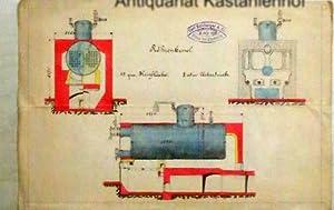 Röhrenkessel,Technische Zeichnung,: Sulzberger, Carl