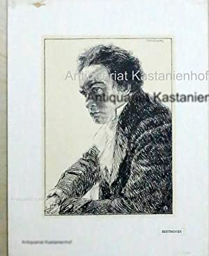 Beethoven, Portrait, Lithographie