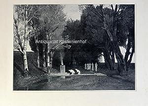 Heiliger Hain, Symbolismus,: Weber nach Böcklin