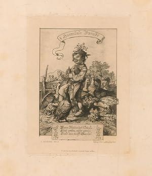 Harmlose Freude,Spätromantik,: Nach : Richter, Adrian Ludwig