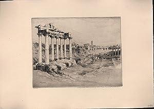Rom (Ruinen),Vedute orig.,: Geissler, Paul Prof.