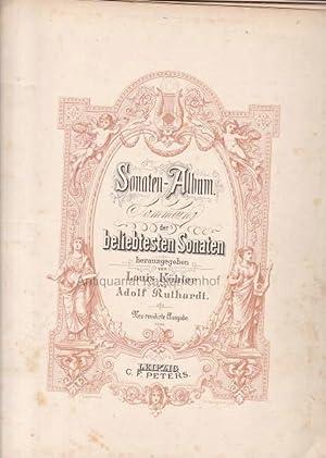 Sonaten-Album Sammlung der beliebtesten Sonaten.,6643.: Köhler, Louis; Ruthardt,