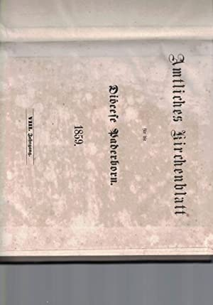 Amtliches Kirchenblatt für die Diöcese Paderborn.1859.,VIII. Jahrgang.: Diverse