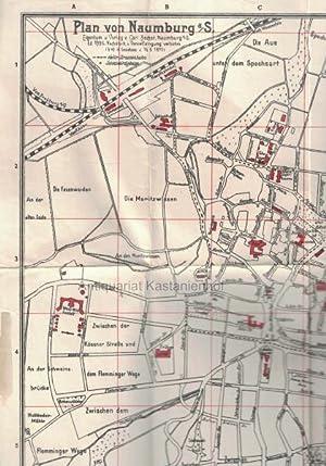 Plan von Naumburg a/S.,,,: Carl Becker