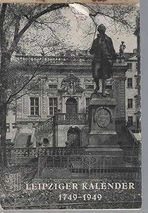 Leipziger Kalender 1749-1949.,Nachrichtenamt der Stadt Leipzig,: Franke, Annelore; Müller, E.