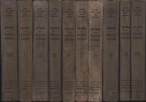 10 Bände Historia de la Nacion Cubana. Tomo I-X. ,Culturas primitivas descubrimiento conquista y ...