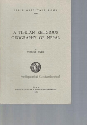 A tibetan religious geography of Nepal.,Serie orientale: Wylie, Turrell