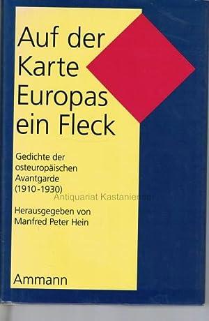 Auf der Karte Europas ein Fleck.,Gedichte der: Hein, Manfred Peter