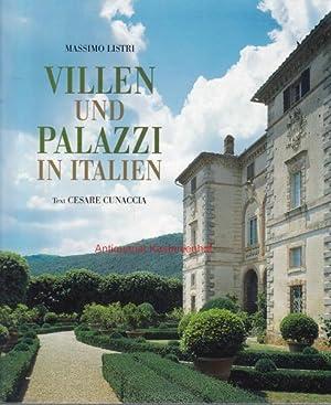 Villen und Palazzi in Italien.: Listri, Massimo; Cunaccia,