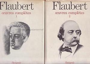 2 Bände Ouvres complètes. Tome un et deux.,: Flaubert, Gustave