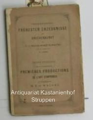 Versteigerung frühester Erzeugnisse der Druckkunst der Weigel'schen Sammlung. Katalog frühester...