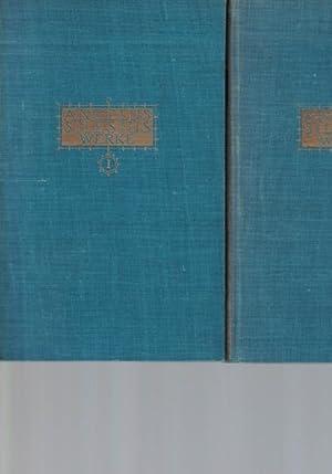 Konvolut 3 Bücher: Angelius Silesius. Sämtliche poetische Werke. In drei Bänden.,Herausgegeben und ...