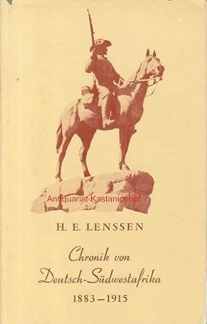 Chronik von Deutsch-Südwestafrika.,Eine kurz gefasste Aufzählung geschichtlicher Ereignisse aus der...