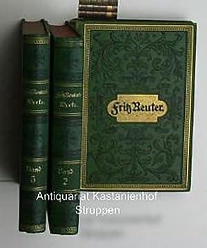 Konvolut drei Bücher: Sämmtliche Werke, Volks-Ausgabe in 7 Bänden,Erster Band: Einleitung/Fritz ...