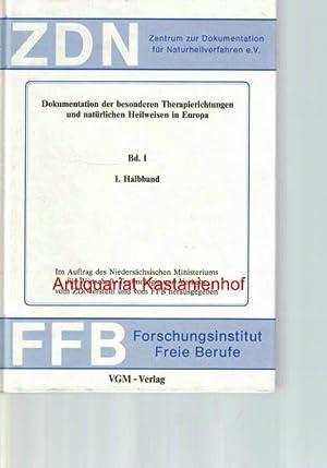 Konvolut 6 Bücher: Dokumentation der besonderen Therapierichtungen und natürlichen Heilweisen in ...