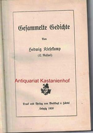 Gesammelte Gedichte: Kiesekamp, Hedwig
