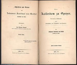 Der Kaiserdom zu Speyer. Mit besonderer Rücksichtnahme auf die Geschichte der Bischöfe ...