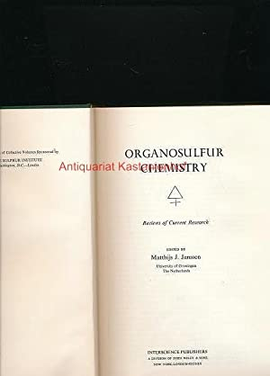 Organosulfur Chemistry,Reviews of Current Research,,