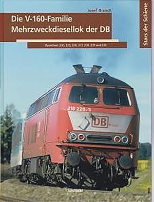 Die Diesellok Familie der Bundesbahn in vielen Bildern Fachbuch Baureihe V 160