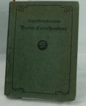 Sozialdemokratische Partei-Korrespondenz;,11. Jahrgang, 1916: Georg Schöpflin (Redaktion)