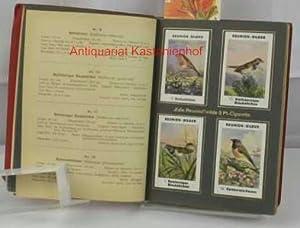 Einheimische Singvögel,Enthält 96 mont. Sammelbilder: Sammelbilderalbum der ...