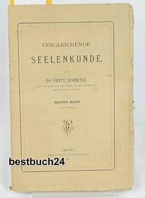 Vergleichende Seelenkunde,Erster Band, zweite Abteilung: Die Psychologie der Tiere und Pflanzen;,: ...