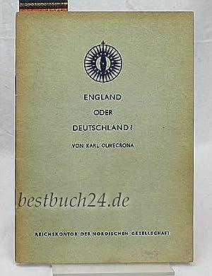 England oder Deutschland?: Karl Olivecrona