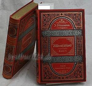 Band 1 un2 Bücher Alldeutschland,Bilder aus der Götter- und Heldensage, aus der Geschichte und der ...
