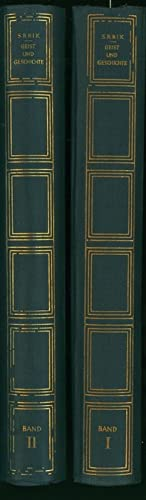 Konvolut 2 Bücher Heinrich Ritter von Srbik,Geist und Geschichte vom Deutschen Humanismus bis ...