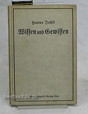 Wissen und Gewissen.,Schollenbücher: 2: Johst, Hanns