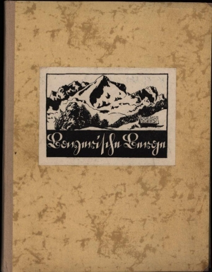 Bayerns Berge. Federzeichnungen von Karl Winkel.: de Crignis, Fritz