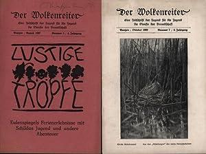 Der Wolkenreiter,Eine Zeitschrift für die Jugend im Dienste der Freundschaft (und der Heimatliebe).,