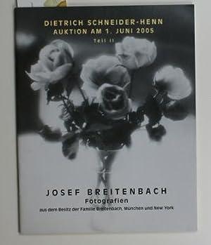 1896 - 1984 Fotografien aus Besitz der Familie Breitenbach, München und New York,Auktion am 1....