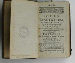Cursus theologiæ moralis. tripartitus. Pars III: Tractatus de contractibus, de sacramentis in...