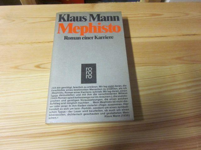 Mephisto. Roman einer Karriere: Mann, Klaus