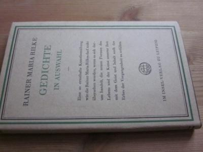 Gedichte in Auswahl: Rilke, Rainer Maria