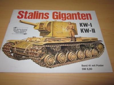 Stalins Giganten KW-I und KW-II: Scheibert, Horst