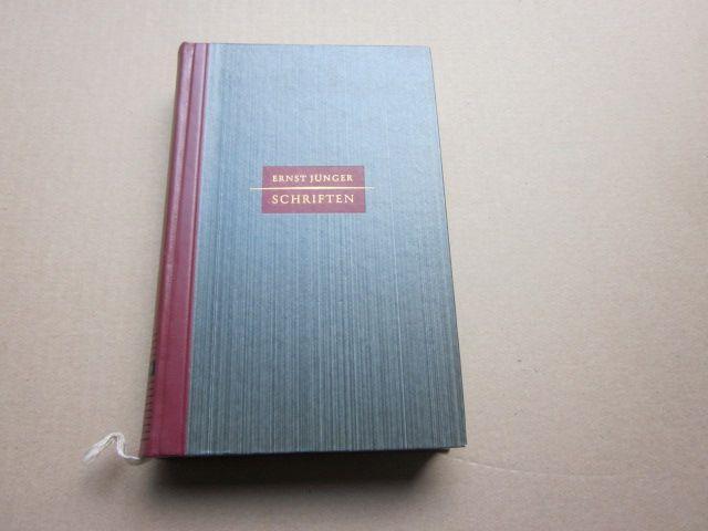 Schriften. Eine Auswahl: Jünger, Ernst