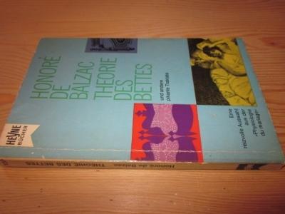 Theorie des Bettes und andere pikante Traktate: Balzac, Honore de