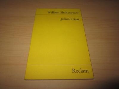 Julius Cäsar. Tragödie: Shakespeare, William