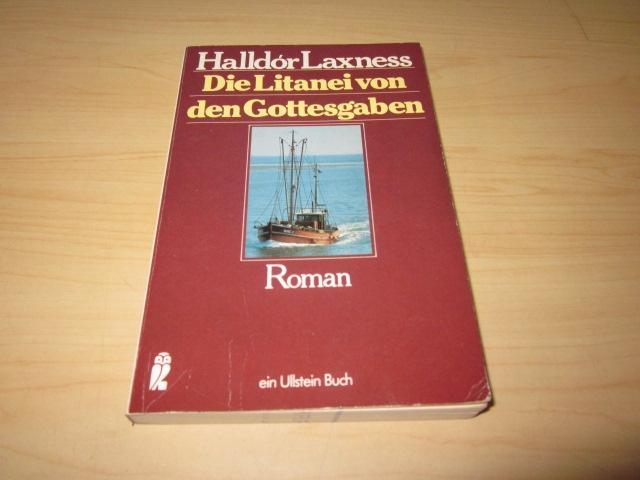 Die Litanei von den Gottesgaben. Roman: Laxness, Halldor