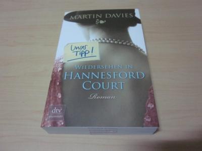 Wiedersehen in Hannesford Court. Roman: Davies, Martin