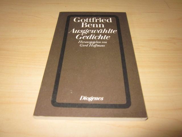 Ausgewählte Gedichte: Benn, Gottfried