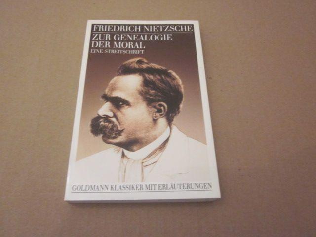 Zur Genealogie der Moaral. Eine Streitschrift: Nietzsche, Friedrich