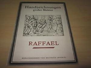 Handzeichnungen großer Meister. Raffael. Acht Kupfertiefdrucke mit: Leporini, Heinrich (Hg.)