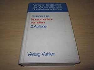 Konsumentenverhalten: Kroeber-Riel, Werner