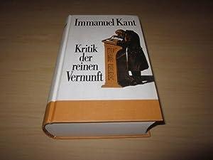 Kritik der reinen Vernunft: Kant, Immanuel